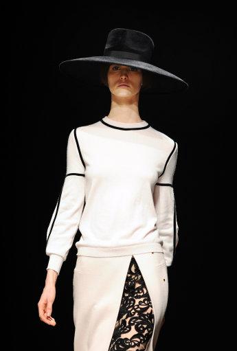 Marios Schwab Catwalk – London Fashion Week 2013