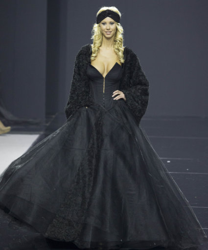 Moscow Fashion Week Alexandra Serova