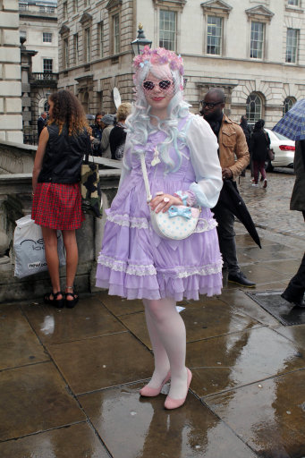 The Fashionistas Arrive at London Fashion Week 2013