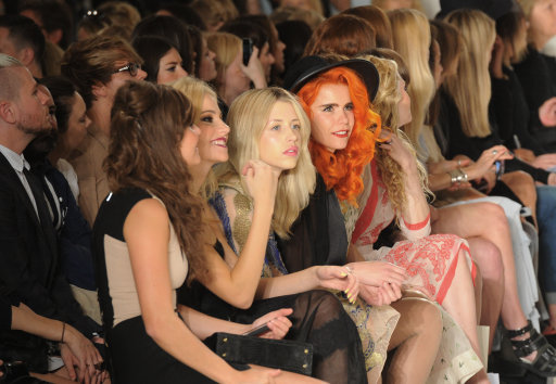 Pixie Lott and Paloma Faith Join Other Celebs At Temperley S/S 14 Show – London Fashion Week