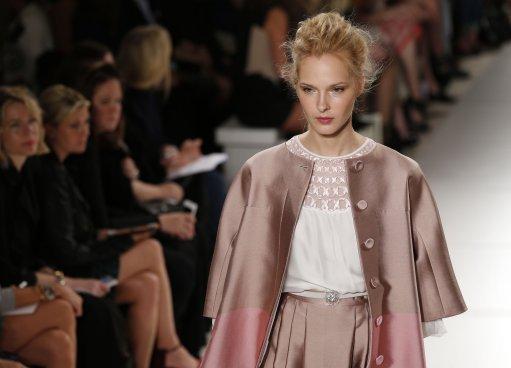Temperley S/S 2014 Catwalk – London Fashion Week