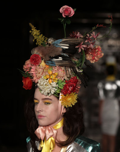 Pam Hogg S/S 2014 Catwalk – London Fashion Week