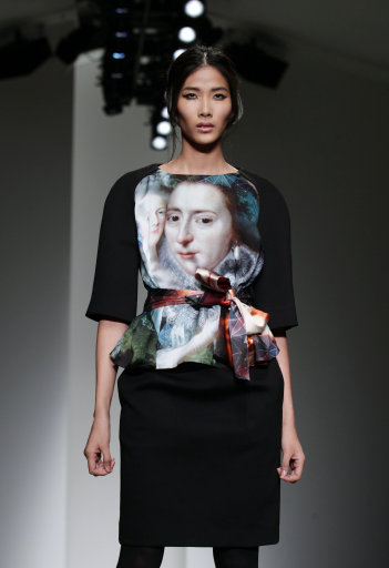 Jean-Pierre Braganza A/W 14 Show – London Fashion Week 2014