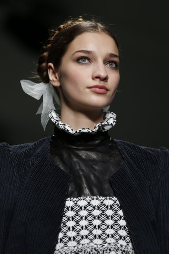 Bora Aksu Catwalk – London Fashion Week 2014