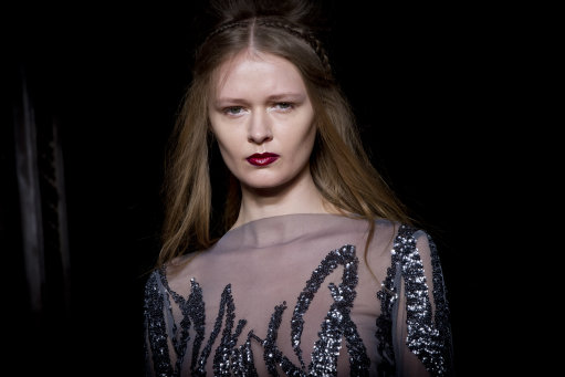 Zeymak Kartal A/W 14 Catwalk – London Fashion Week (Editor Notes Nudity)