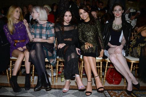 Julien Macdonald Front Row – London Fashion Week 2014