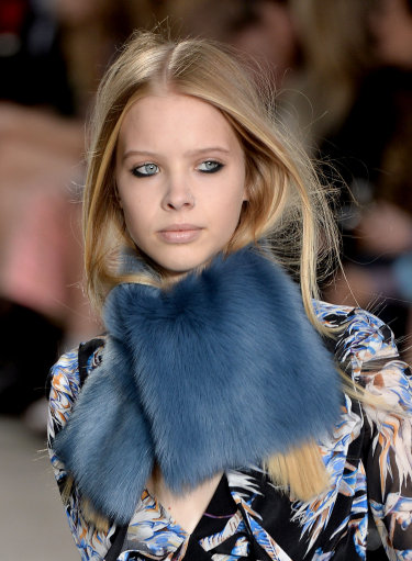Topshop Unique Catwalk A/W 14 – London Fashion Week