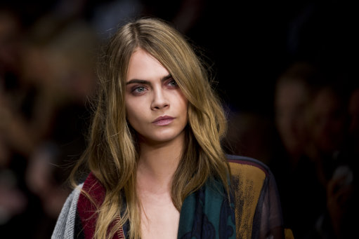 Cara Delevingne And Jordan Dunn Model for Burberry A/W 14 Show – London Fashion Week 2014