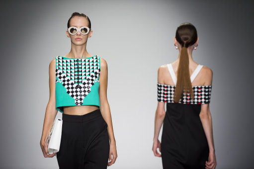Holly Foulton S/S 2015 Catwalk Show – London Fashion Week