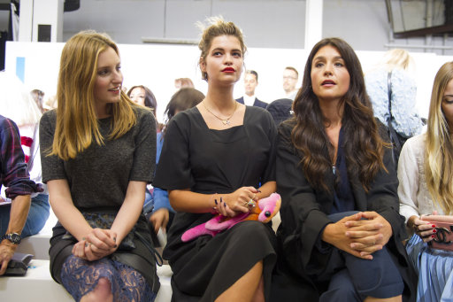Abbey Clancey, Pixie Lott and other Celebrities  at Topshop S/S 15 Show  – London Fashion Week