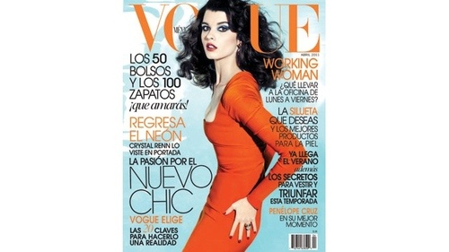 Crystal Renn Shoots Her First Vogue Cover
