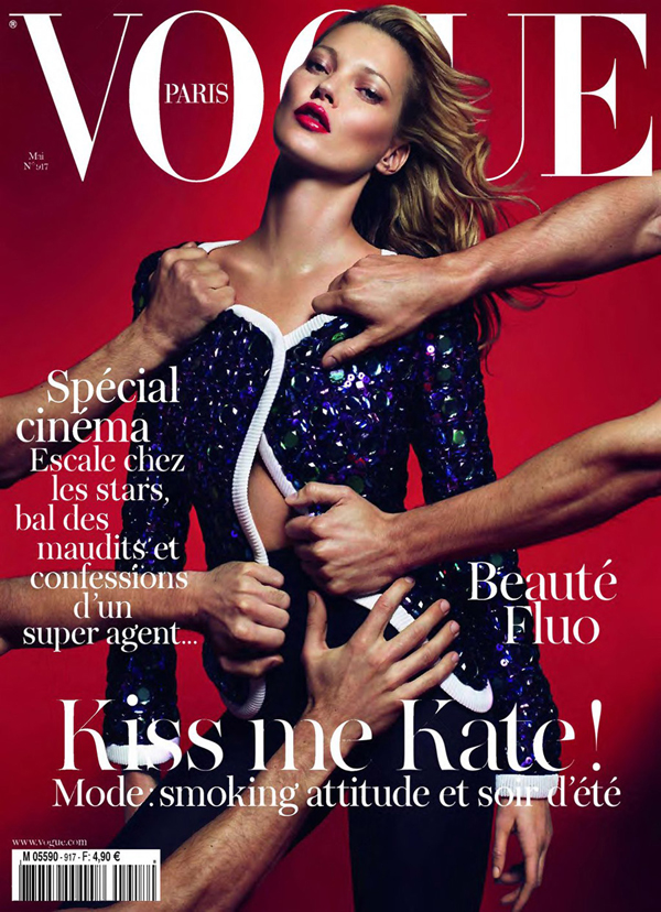 Kate Moss For Vogue Paris May 2011 (Editor Notes Some Nudity)