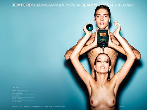 Tom Ford Neroli Portofino Beauty Campaign Uses Naked Models Pouring Liquid On Each Other