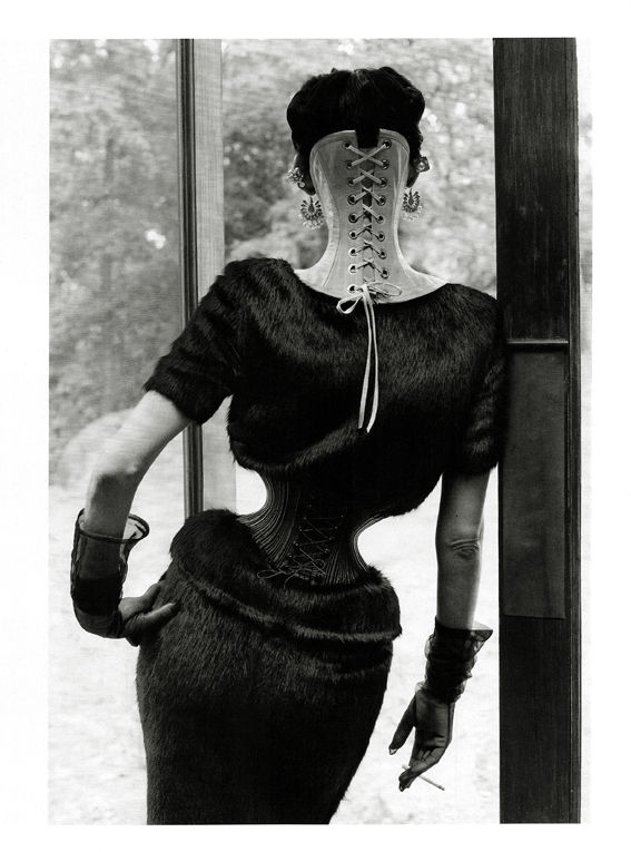 The Discipline of Fashion Stella Tennant by Steven Meisel for Vogue Italia September 2011