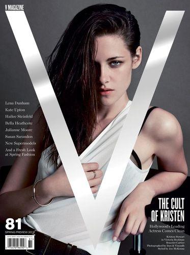 Kristen Stewart by Inez & Vinoodh for V No.81 Spring Preview 2013