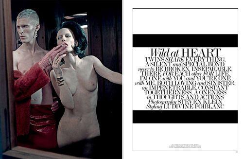 Natasa Vojnovic by Steven Klein For Interview March 2013 – Editor Notes Nudity