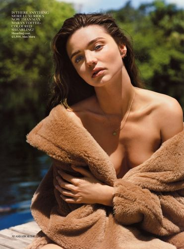 'Under Cover' Miranda Kerr By Alasdair Mclellan For Uk Vogue September 2013