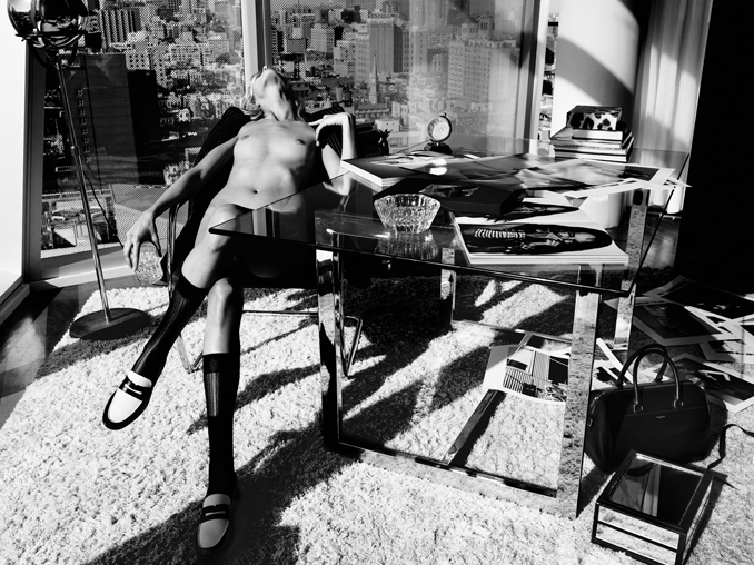 Anja Rubik by Paola Kudacki for Industrie No.6 (Editor Notes Nudity)