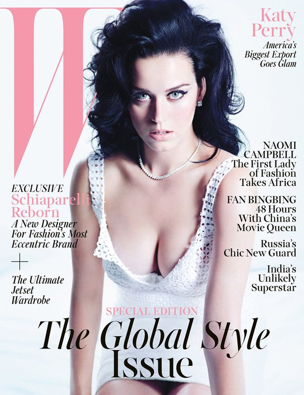 Katy Perry by Mario Sorrenti for W November 2013