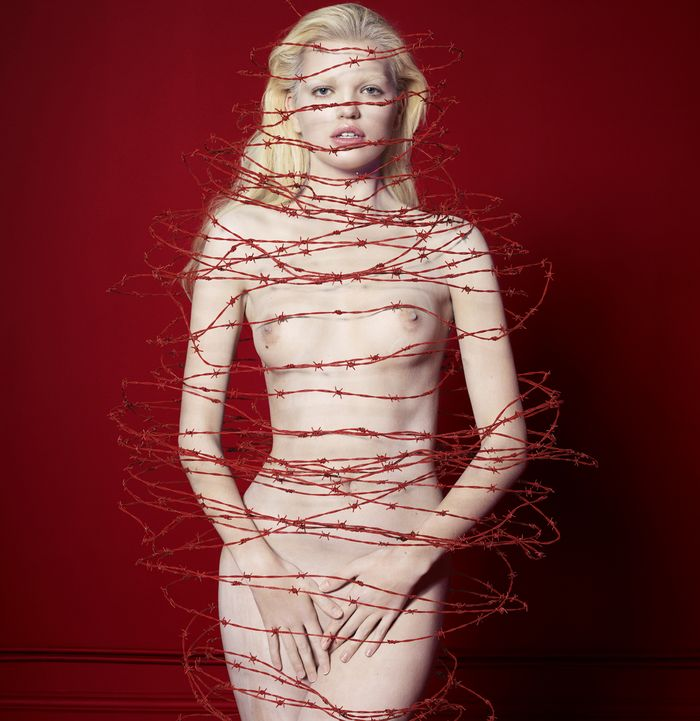 'The Redroom' by Cuneyt Akeroglu for Antidote SS 2014 (Editor Notes Nudity)