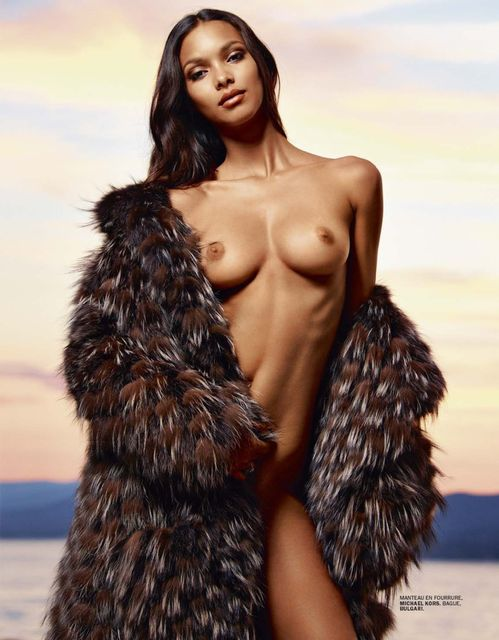 Lais Ribeiro by Mark Segal for Lui Summer 2014