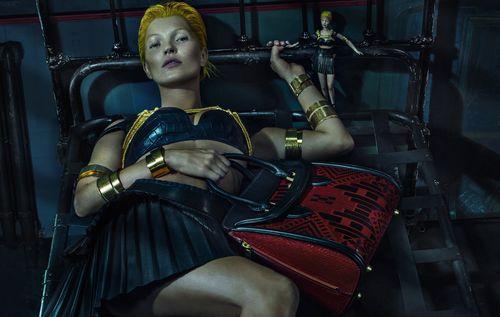 Full Alexander McQueen SS 2014 Campaign Kate Moss by Steven Klein
