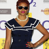 Kelis Rocks The Nautical Theme At Silver Clef Awards – Myleene Klass Sinks: In Pictures