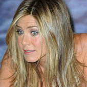 Jennifer Aniston Launches Non Perfume At Harrod's: No Pictures
