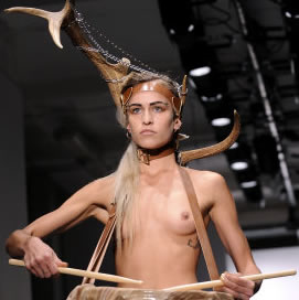 London Fashion Week Photos – Pam Hogg (NSFW Photos)