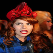 Pixie Lott And Paloma Faith Among Celebreties In Front Row At Ashish S/S Show