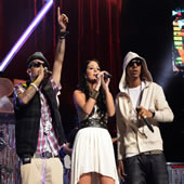 Taio Cruz, N-Dubz & A Host Of Other Bands Play At Orange Rockcorps – Pictures
