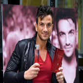 Peter Andre Launches New Perfume 'Mysterious Girl'