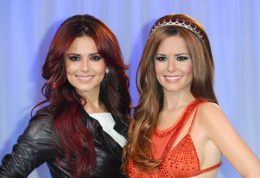 X Factor Judge Cheryl Cole Meets Her Wax Work &#8211; Pictures