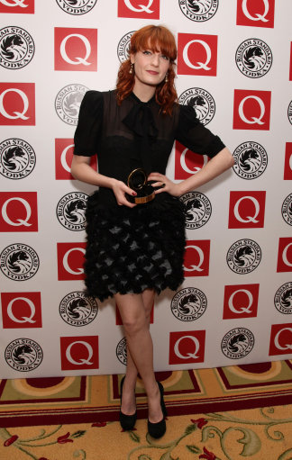 Florence Welch And Nadine Coyle Work Black At Q Awards – Red Carpet Pictures