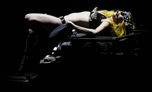 Lady GaGa Performing At 02 Dublin On Monster Ball Tour – Pictures