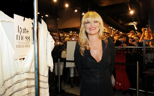 Kate Moss Launches New Range For Topshop – Pictures