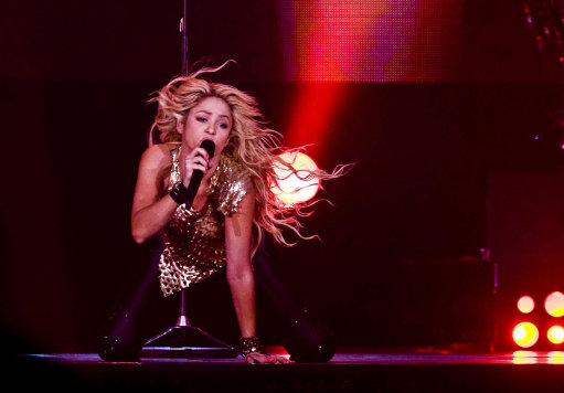 Shakira's Performs At O2 Arena In London – Pictures