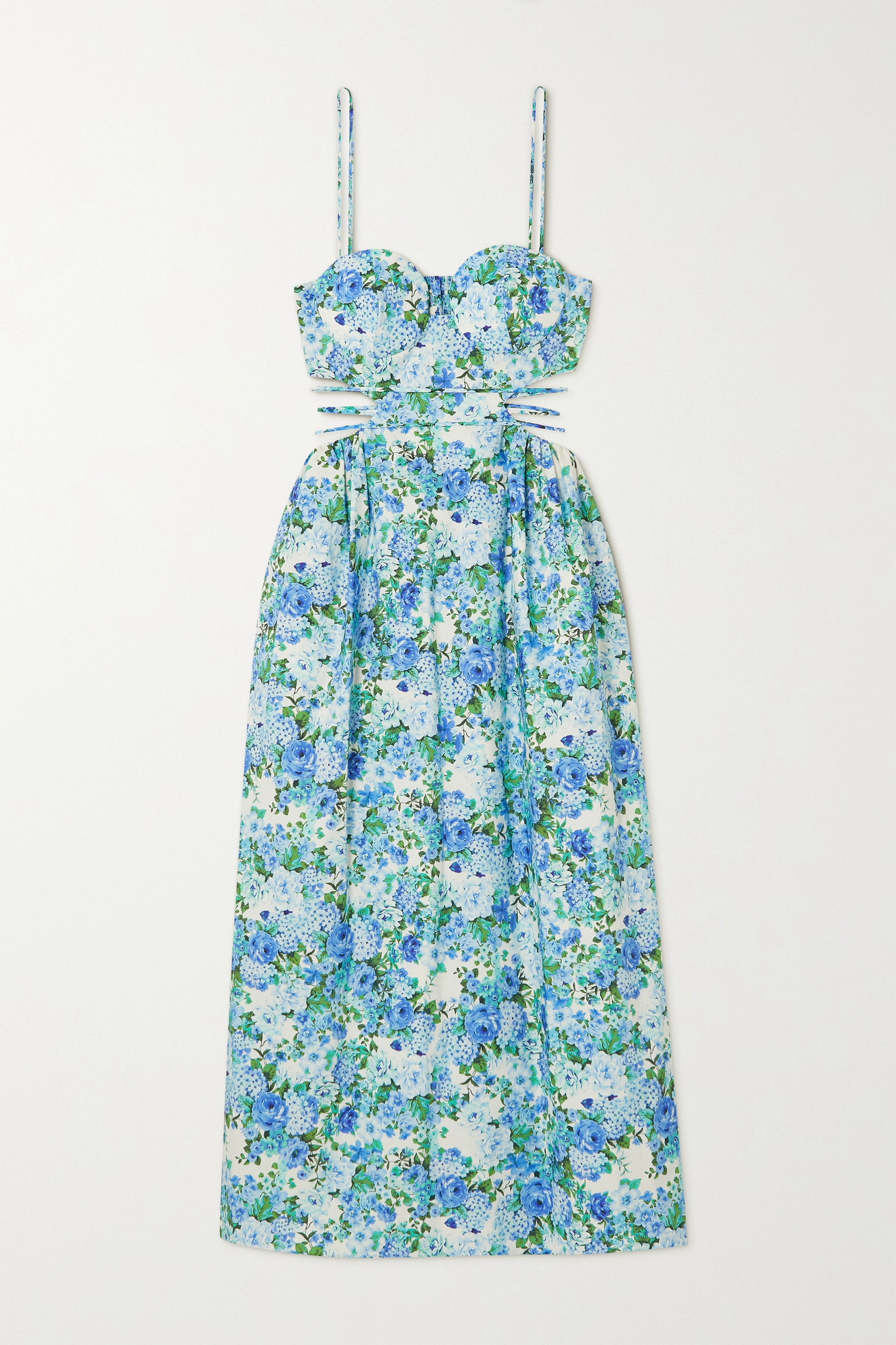 WHAT TO WEAR NOW     Floral day dress