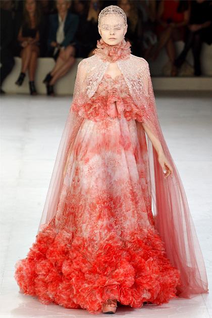 Alexander McQueen Spring 2012 Collection