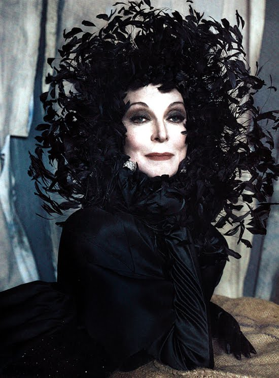 Carmen Dell'Orefice for Vanity Fair Italia
