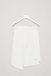 COS FOLDED CANVAS SKIRT £69 COSSTORES.COM