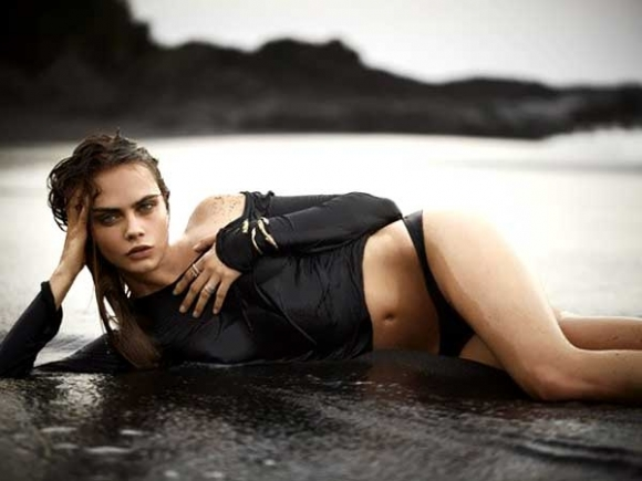 Cara Delevingne Poses Naked in John Hardy Ad Campaign
