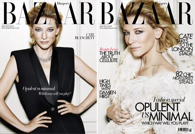 Cate Blanchett for UK Harper's Bazaar