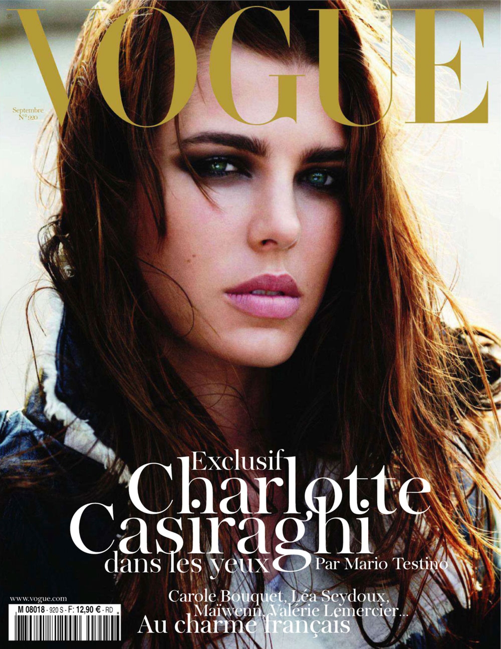 Charlotte Casiraghi For Vogue Paris September '11