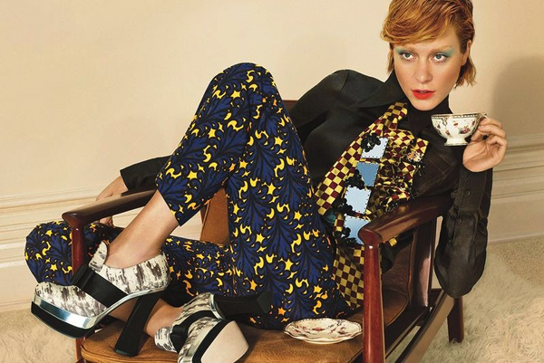 Chloë Sevigny for Miu Miu