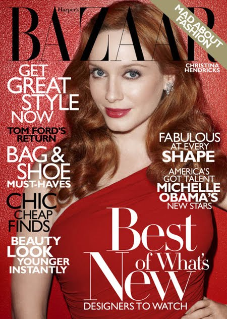 Christina Hendricks for Harper's Bazaar – Pictures