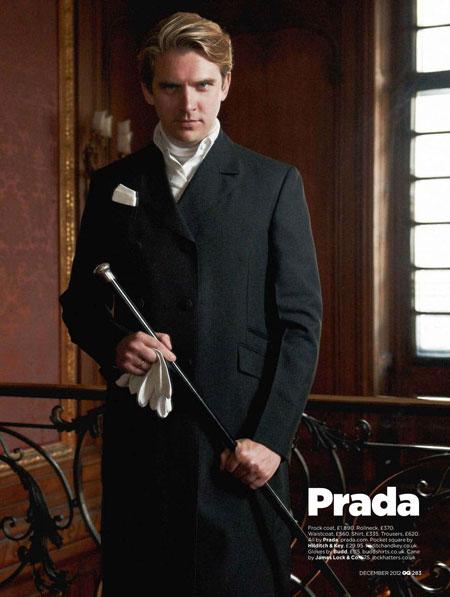 Downton Abbey Men for GQ Magazine