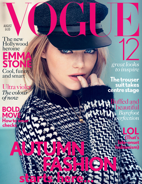 Emma Stone for Vogue UK