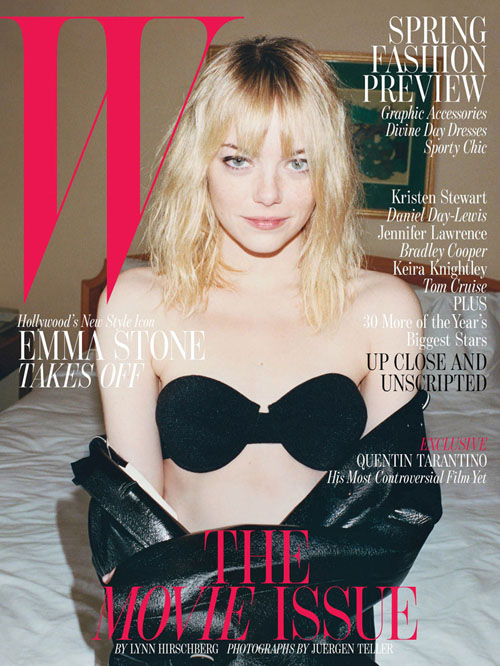 Emma Stone for W Magazine