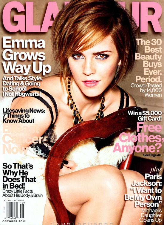 Emma Watson for Glamour Magazine